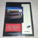 Yamaha DSP-A1,DVD-C900 Cd/DVD Ad,1999, Article,NICE!