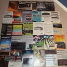 Sansui Ad Archive on CD,32 Rare Ads,Brochure,Receiver