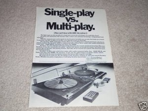ADC Accutrac 4000, +6 Turntable Ad,1978,Article,specs