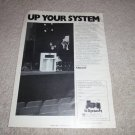 klipsch La Scala Speaker Ad, 1978, Article, 1 page