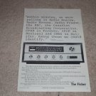 Fisher R-200-B World Band Receiver Ad, 1966,Article