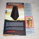 Maverick Audio Dark Star Turntable Ad,Very Rare! 1987