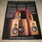 Infinity Speakers Ad from 1987, EMIT,Poly Cones!