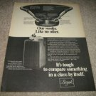 BOZAK B-199A Woofer,Tempo II Ad from 1975