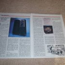 JAMO PP 3000 Speaker Review,1985,2 pgs,Full Test, RARE!