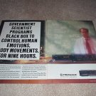 Pioneer 6 cassette Changer Ad from 1990,CT-M6r 2 pages!