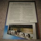 Luxman R-1050 Receiver Ad from 1978,color,specs,article