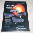 McCormack Micro Drive Ad, 1995,Pre,Amp, Headphone,Phono