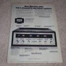 Marantz 2440 Quad Amp Ad,features,specs,article,1972