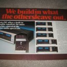 JVC Receiver Line AD from 1977,color,JRS600II,400II,300