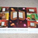 Ampex Speaker Ad,1968,2 pgs,2115,815,1115,3011,915,4 pg