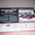 4 page Miracord Xa-100 Turntable Brochure 1955, RARE!