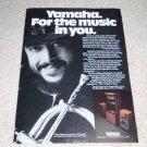 Yamaha Stereo Ad,NS-1000 Speaker, Amp, Turntable, 1981