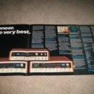 Pioneer QUAD Receivers,QX-949,747,646 4 page AD specs