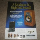 Paradigm Reference Active Speakers Ad from 1997