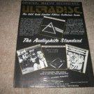 MFSL Ultradisc Ad from 1988,Pink Floyd,DSOTM,Huey Lewis
