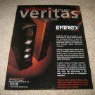 Energy VERITAS Line Ad from 2001