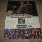 RCA Videodisc Ad from 1983,Gene Kelly in Ad,RARE!