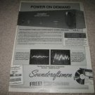 Soundcraftsmen Power Amp A2801 Ad from 1983