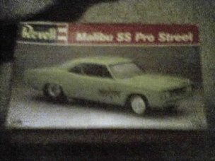 1994 Revell Malibu SS Pro Street Model Kit
