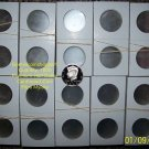 1000 2x2 Cardboard MYLAR COIN FLIPS (HALF DOLLAR) Suppl