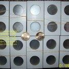 1000 2x2 Cardboard MYLAR COIN FLIPS (SAC, SBA, PRES)