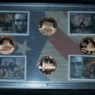 09~USMINT S PROOF LINCOLN PENNY SET~ALL 4 CENT DESIGNS