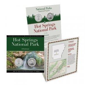 Hot Springs National Park QUARTER COLLECTION Booklet