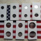 2x2 Coin Holders 25-Snap tites UR CHOICE-SIZES-Supplies