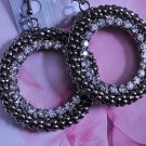 EARRINGS Bubble Bead Earrings ~ Silver Stones ~