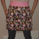 Adorable Cupcake Pink & Brown Apron ~Ready to Bake