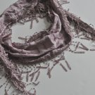 Scarf - Necklace Scarf ~ Stylish ~ Chic ~ BABY PINK