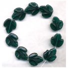 Green Grapes Fruit Leaf Beads Autumn Maple Oak Leaf