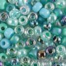 Miyuki Turquoise Seed Beads Glass Japanese 8/0 Blue Green
