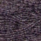 size 8 Czech Seed Beads Glass Lilac Purple 1/2 Hank