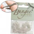 Bungee Bracelet DIY For Charm or Dangle Cha Cha Silver One Size Fits All
