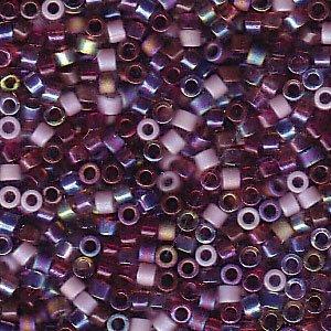 Vineyard Delica Beads Miyuki Red Purple