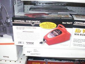 AIR VENTURI TYPE VACUUM PUMP R134A R12 CONNECTOR AC A/C