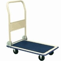 NEW Folding Handle Platform Hand Truck Flat Dolly Cart