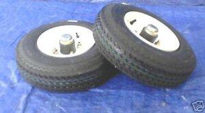 "8"" Spare Tire & Rim for Utility Trailer"