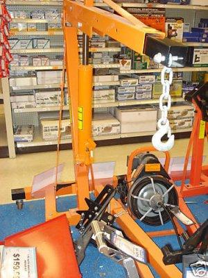 2 TON Engine Motor Hoist Cherry Picker Shop Crane Lift