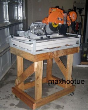 NEW 2.5 HP LARGE 10'' INDUSTRIAL TILE & BRICK WET SAW