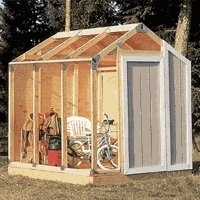 FAST FRAMER for Gable Roof Framing Shed Building Kit