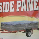 STEEL SIDE PANEL KIT FOR 4 FT x 8 FT UTILITY TRAILER