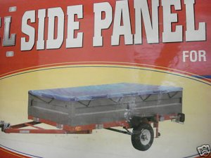 STEEL SIDE PANEL KIT FOR 4 FT x 8 FT UTILITY TRAILER