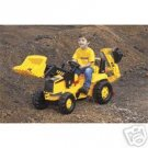 NEW Kids Ride On Caterpillar CAT Backhoe Pedal Tractor