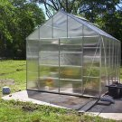 10' x 12' GREENHOUSE Polycarbonate Panels! GREEN HOUSE!