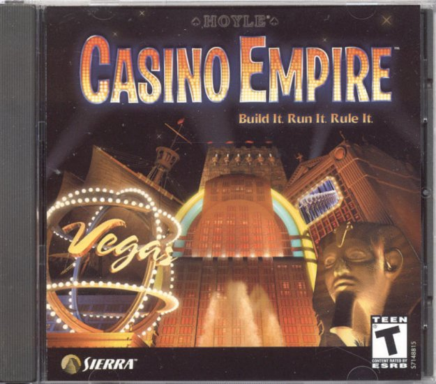 Hoyle CASINO EMPIRE 2002 Sierra PC CD Game