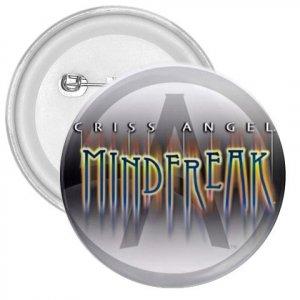Criss Angel Mindfreak 3 inch pinback button backpack pin 26984936