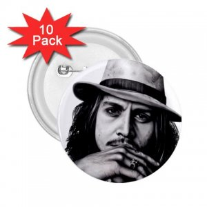 Johnny Depp 10 pack of 2.25 inch pinback buttons backpack pins 26994622